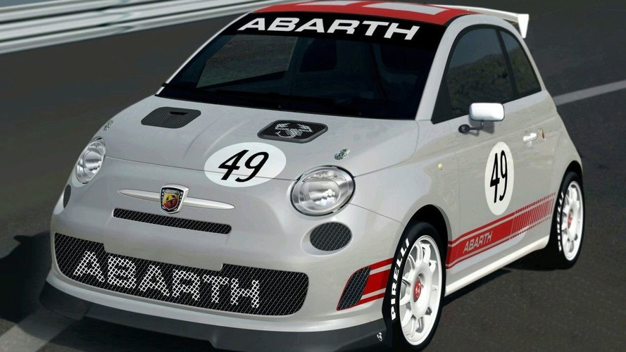 Fiat 500 Abarth Assetto Corse in Action