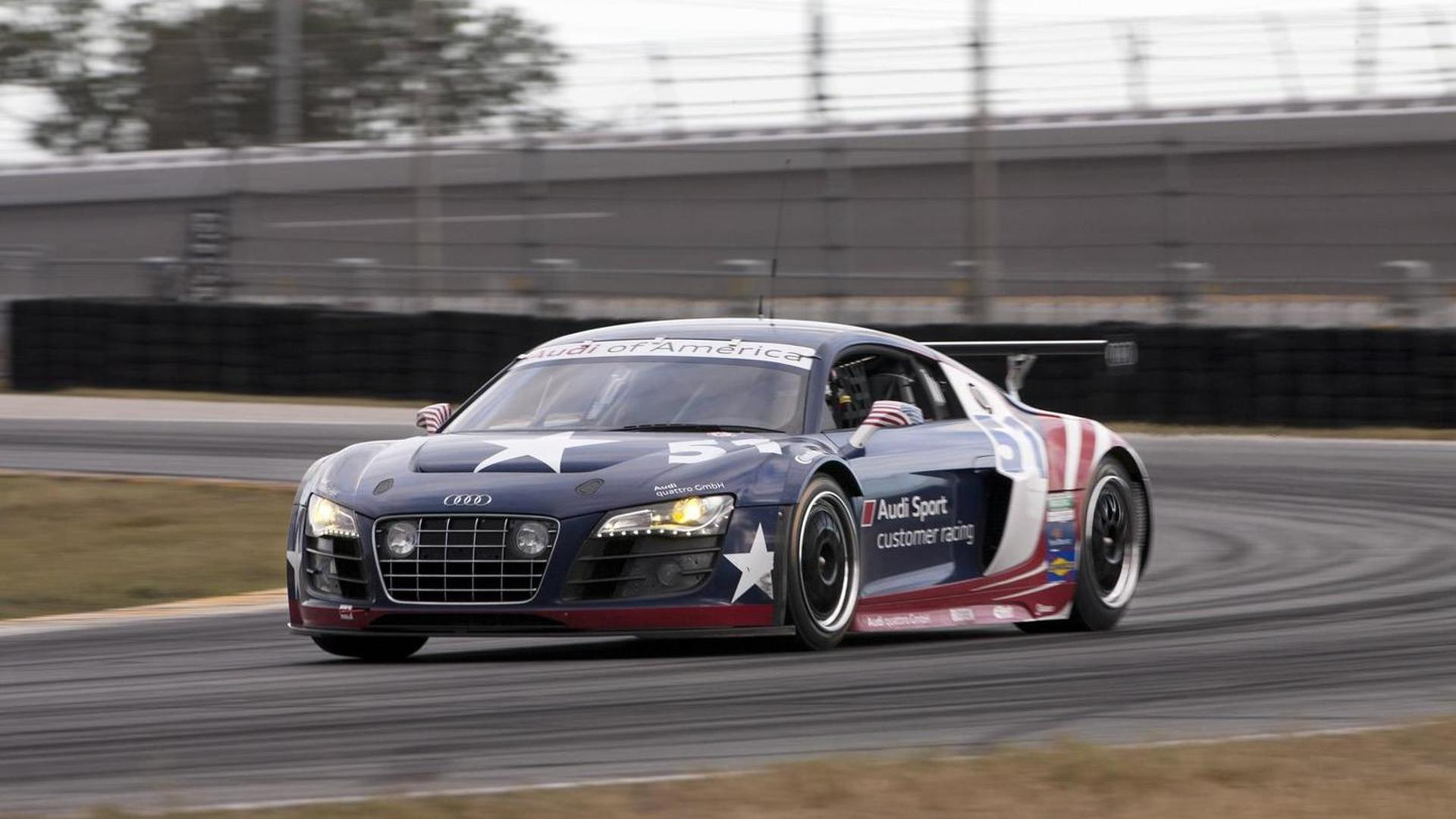Audi R8 GRAND-AM completes final test at Daytona