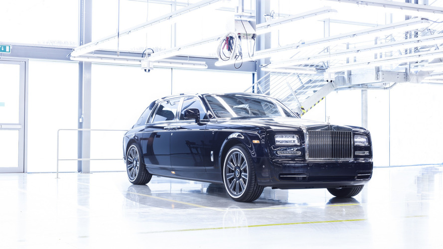 Last Rolls-Royce Phantom VII is unsurprisingly a bespoke creation