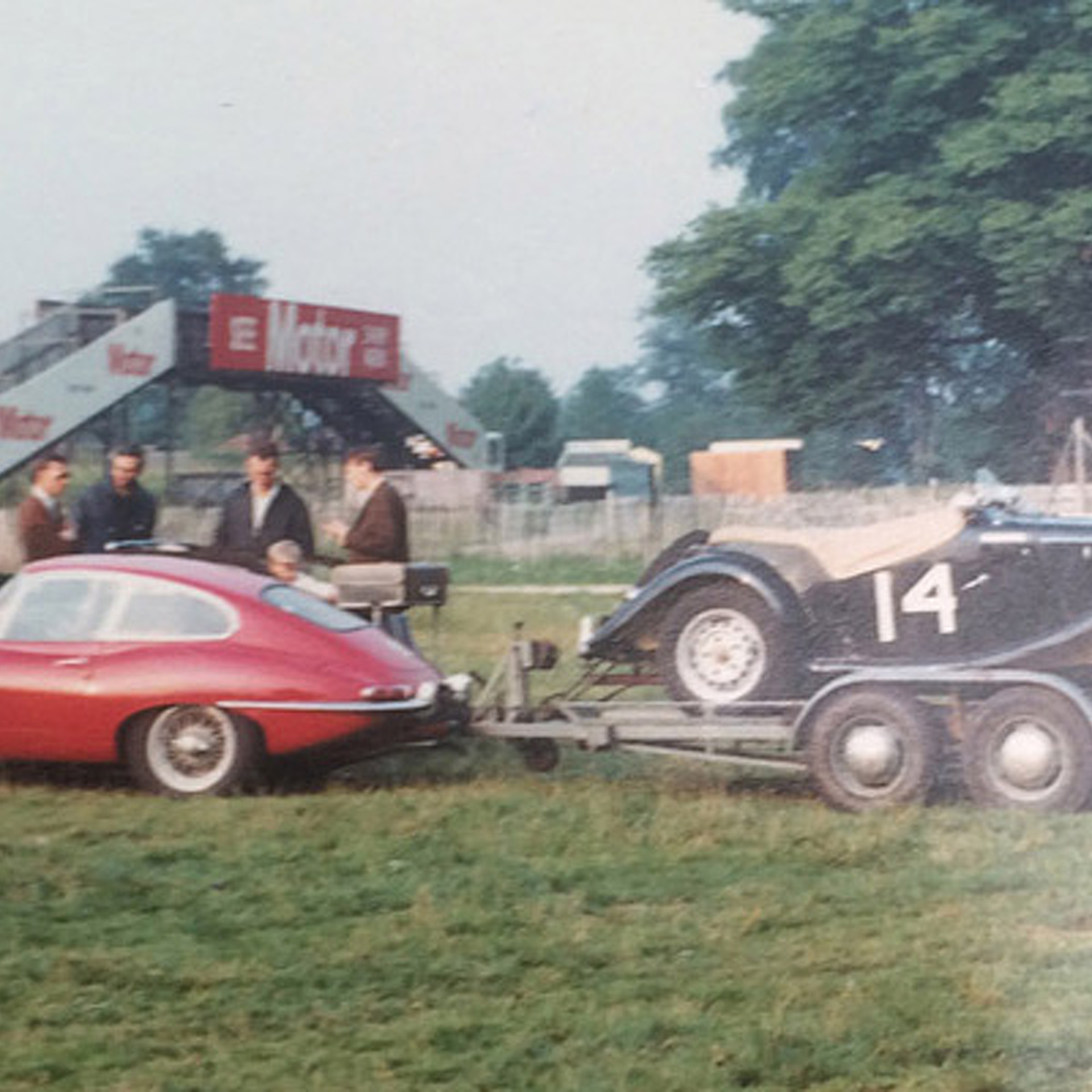 A Barn Find Jaguar with 'The Beatles' Origins Goes to Auction