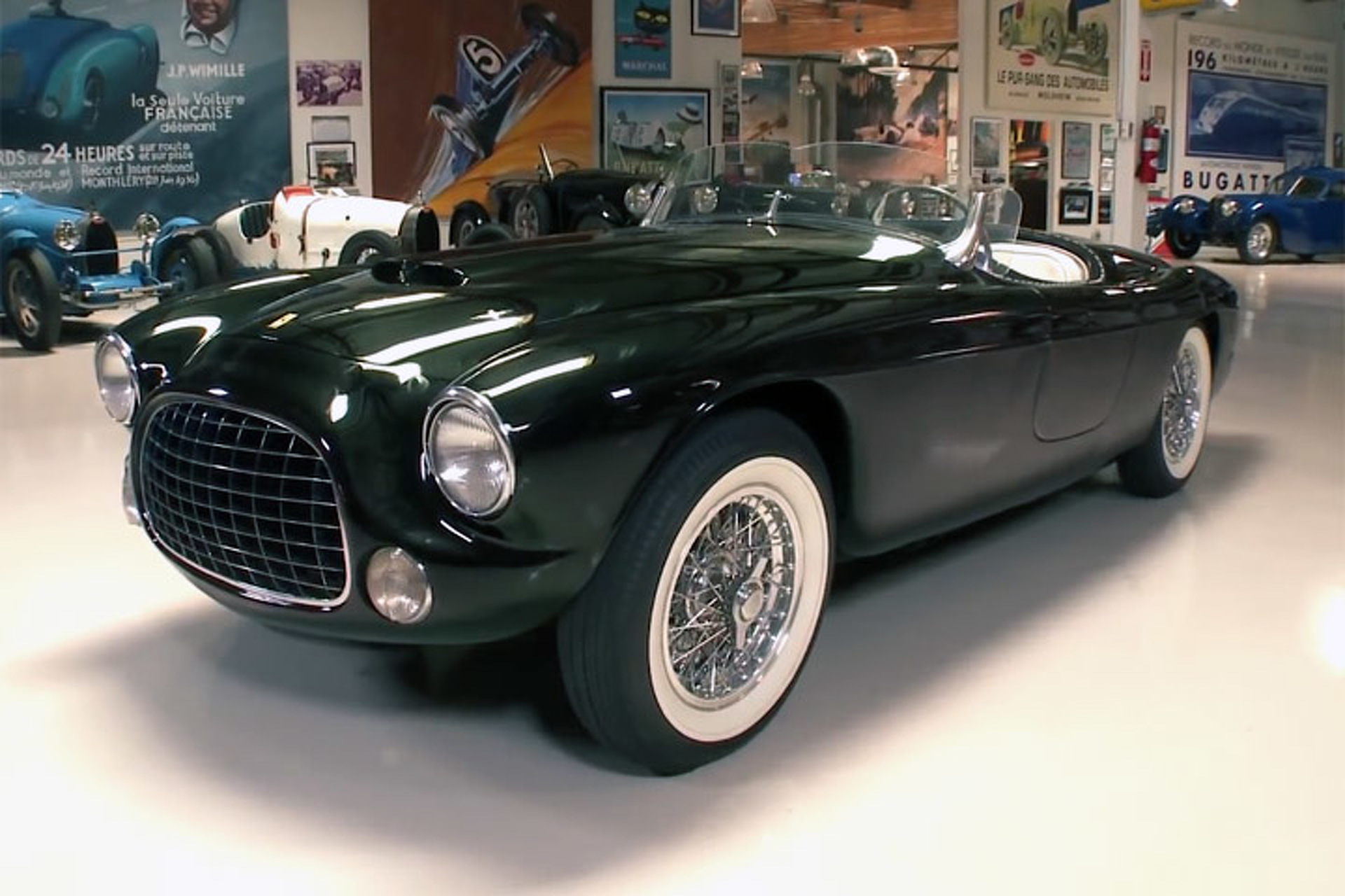 1952 Ferrari Barchetta Stops By Jay Leno's Garage product 2014-06-20 15:00:56