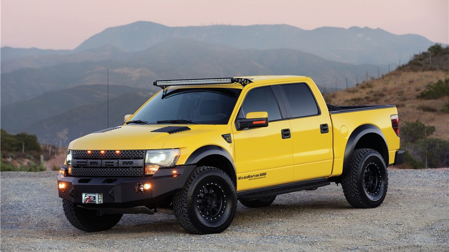 Hennessey VelociRaptor from Top Gear to be auctioned for charity