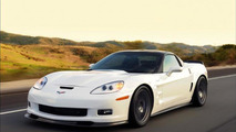 Stig Laps TopGear USA Test Track in Hennessey ZR750 Corvette ZR1 [video]