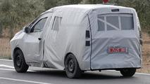Dacia commercial van based on Lodgy MPV spy photo
