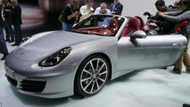New 2013 Porsche Boxster live in Geneva 06.03.2012