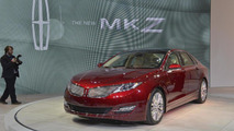 2013 Lincoln MKZ live in New York 04.04.2012