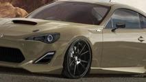 Custom Scion FR-S for SEMA 25.10.2012