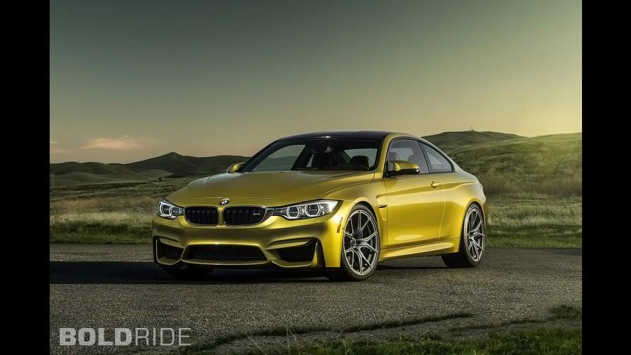 Vorsteiner BMW M4 Austin Yellow