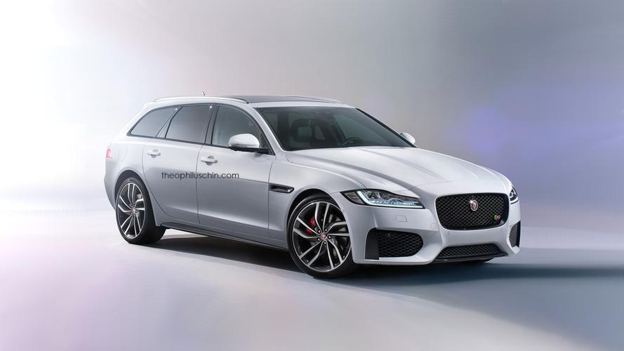 Jaguar XF Sportbrake confirmed for 2017