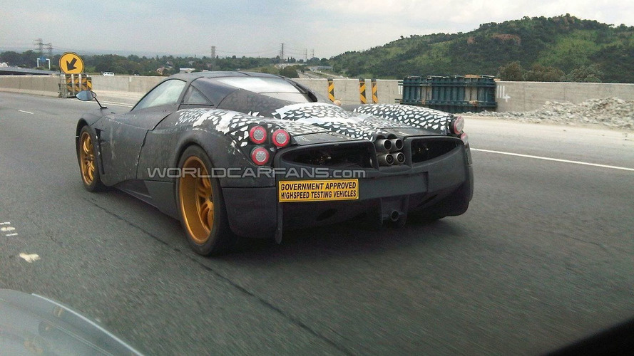Pagani C9 will get custom-made AMG power plant