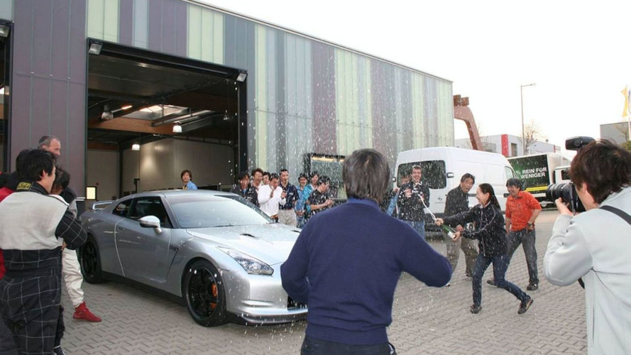Nissan GT-R Once Again Breaks Previous April 15th Record Lap Time at Nurburgring