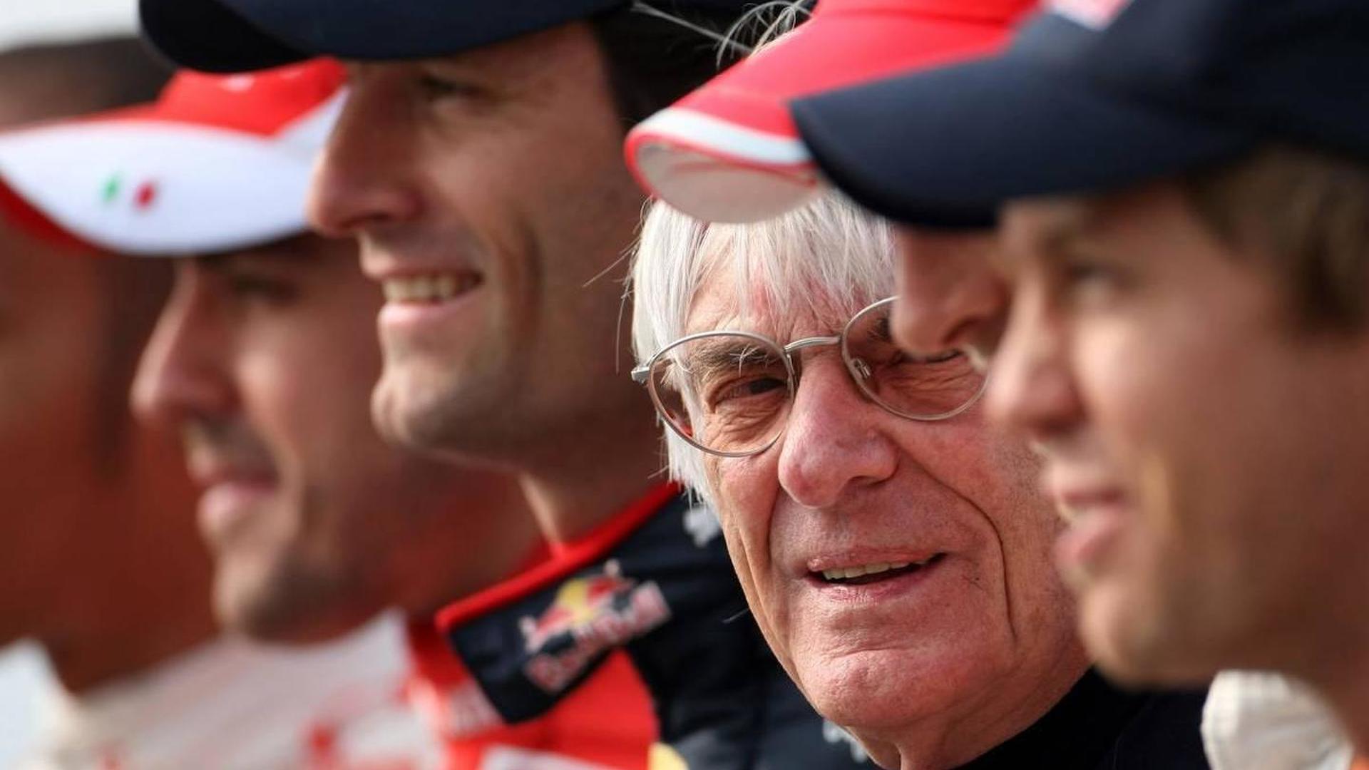 No public floatation for F1 - Ecclestone