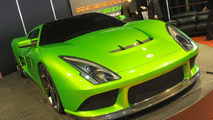 Revenge Verde Supercar Concept Hits the Detroit Show Floor