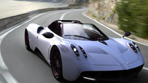 Pagani Huayra Roadster gets rendered