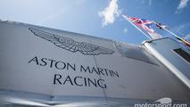 Aston Martin Racing paddock area