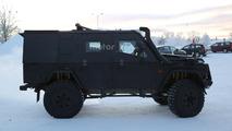 Mercedes G Class Light Armoured Patrol Vehicle