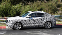 2014 BMW X4 spied on the Nurburgring