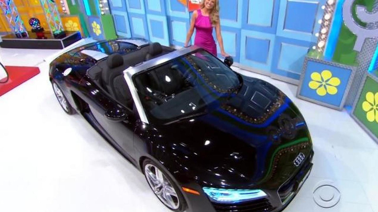 The Price Is Right player wins Audi R8 Spyder video screenshot