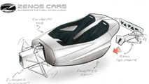Ex-Caterham boss reveals sketches of upcoming Zenos E10 sportscar