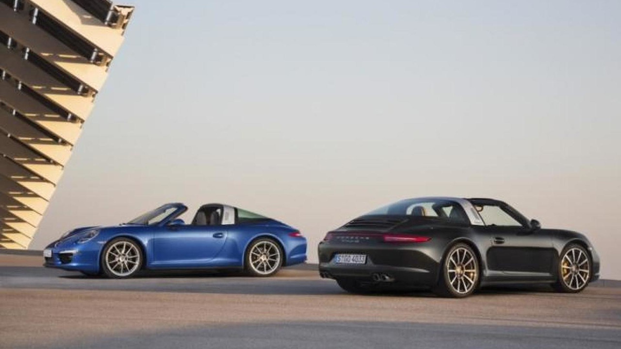 2014 Porsche 911 Targa leaked official photo