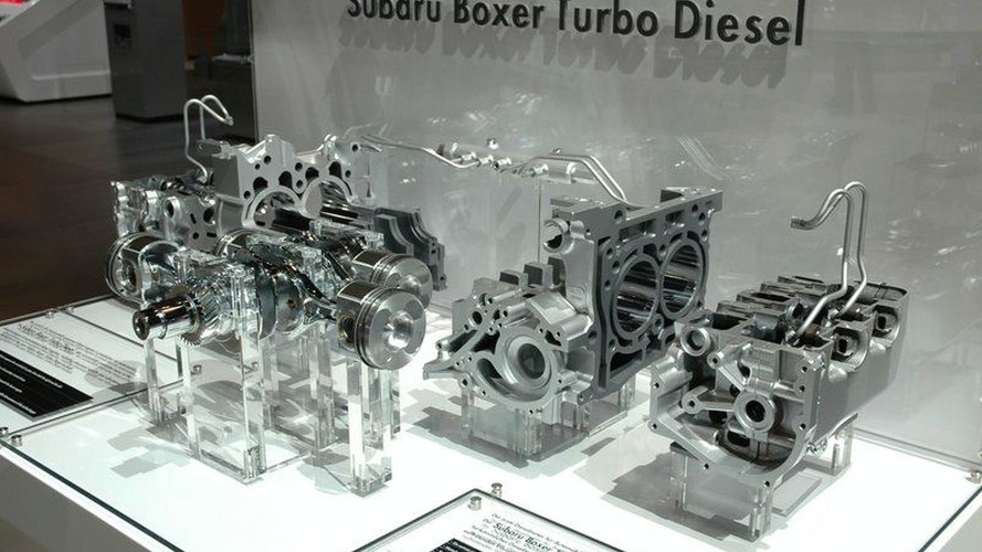 Geneva Motor Show: Subaru goes Diesel and Electric
