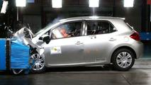 New Toyota Yaris Crash Test - Front