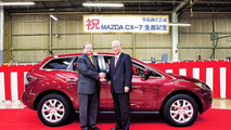 Mazda CX-7 Crossover SUV Production Start