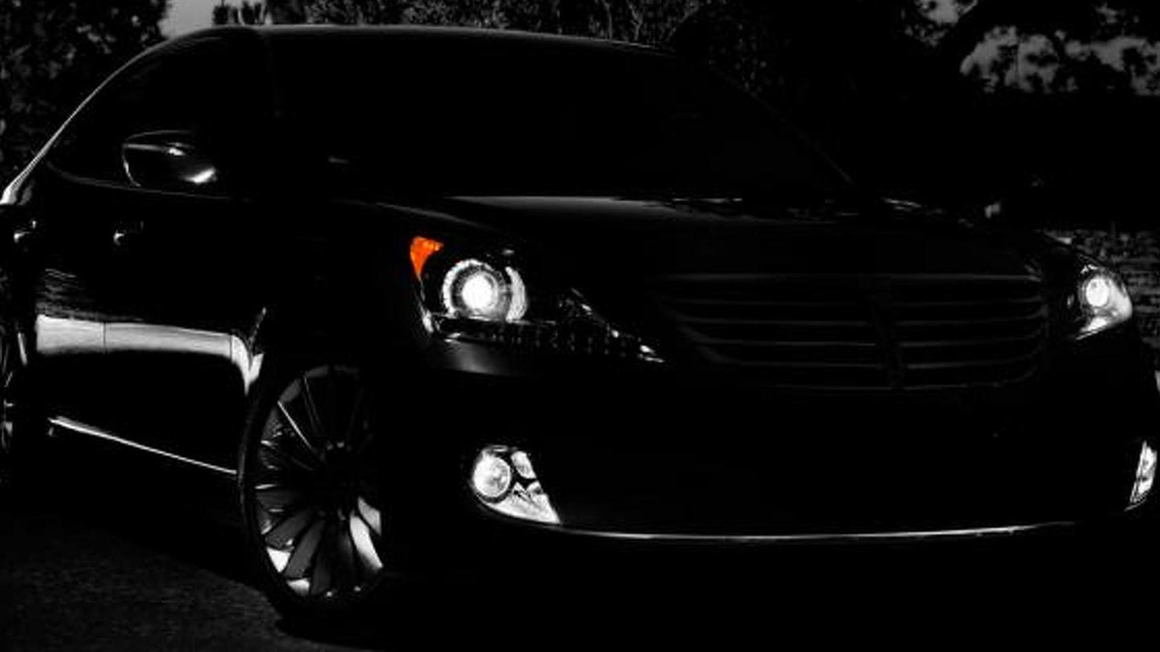 2014 Hyundai Equus teaser photo (original)