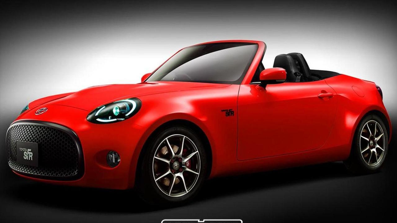 Toyota S-FR Roadster render