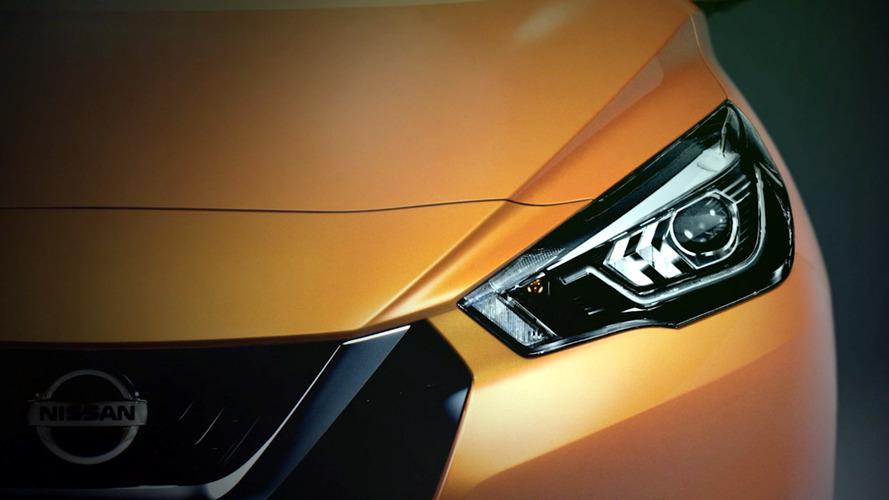 Nissan Micra teased ahead of Paris debut