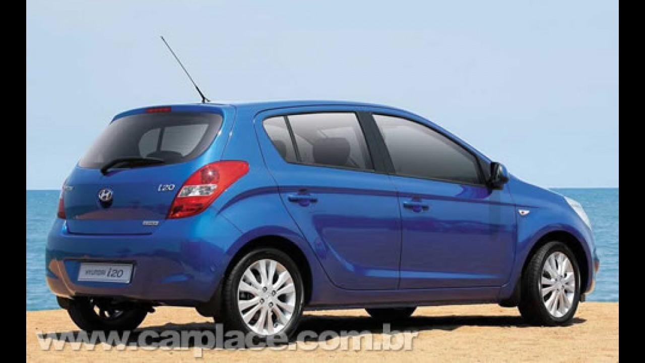 Novo Hyundai i20 será fabricado no Brasil - Montadora divulga novas imagens