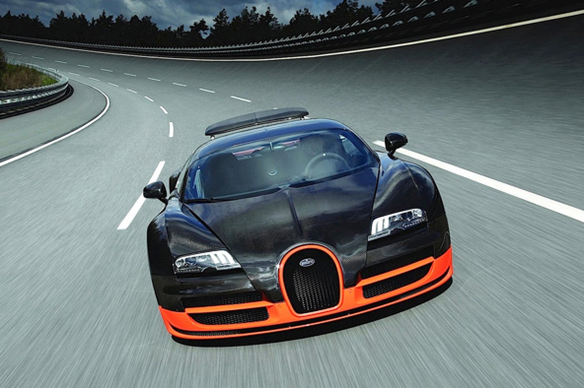 Wheels Wallpaper: Bugatti Veyron 16.4 Super Sport