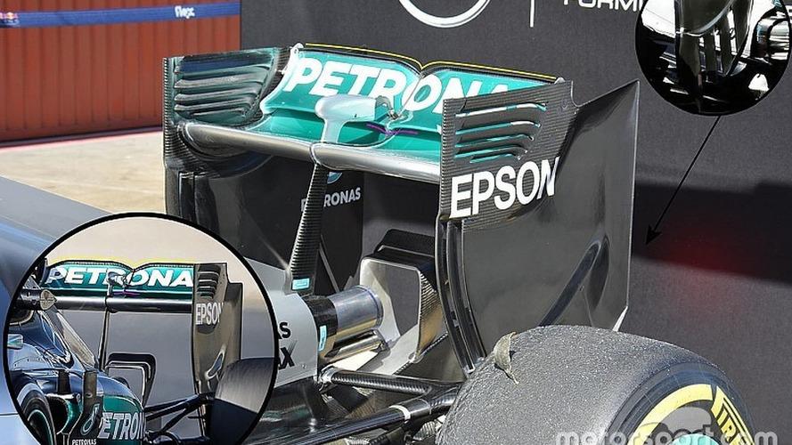 Tech analysis: F1 teams unleash updates as final test begins