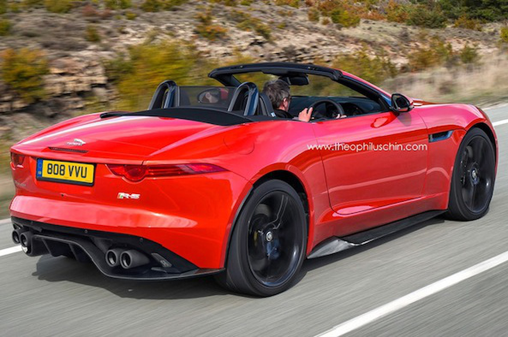 Jaguar F-Type RS Gets Rendered