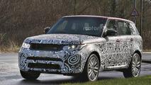 Facelifted Range Rover Sport SVR spied, could have 575 hp