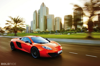 McLaren MP4-12C Given Middle East Car of the Year Title