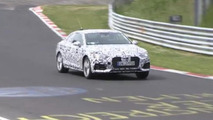 2017 Audi A5 Coupe spied on the Nürburgring [video]