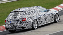 2012 Audi RS4 Avant spied at the Nürburgring
