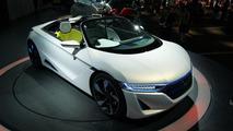 Honda Small Sports EV Concept (EV-STER) live in Tokyo 30.11.2011