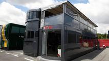 HRT hospitality motorhome, Spanish Grand Prix, 06.05.2010 Barcelona, Spain