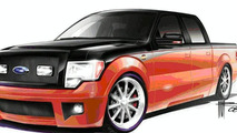 Ford to Show Four F-150 Project Trucks at SEMA