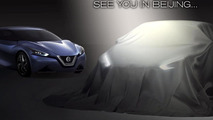 Nissan teases their new sedan concept for Auto China [video]