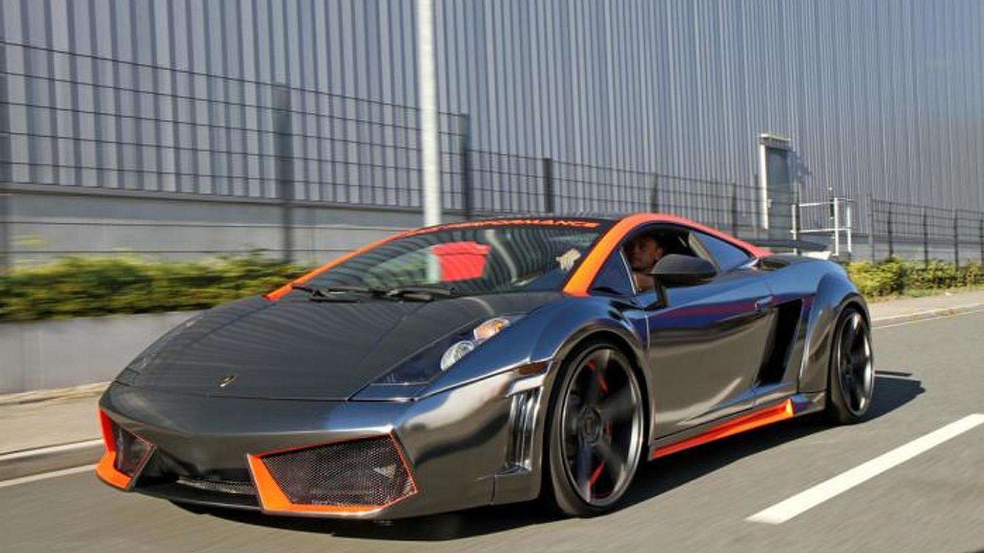 Lamborghini Gallardo gets air suspension and power hike from xXx Performance