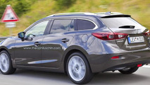 2014 Mazda3 imagined as a wagon