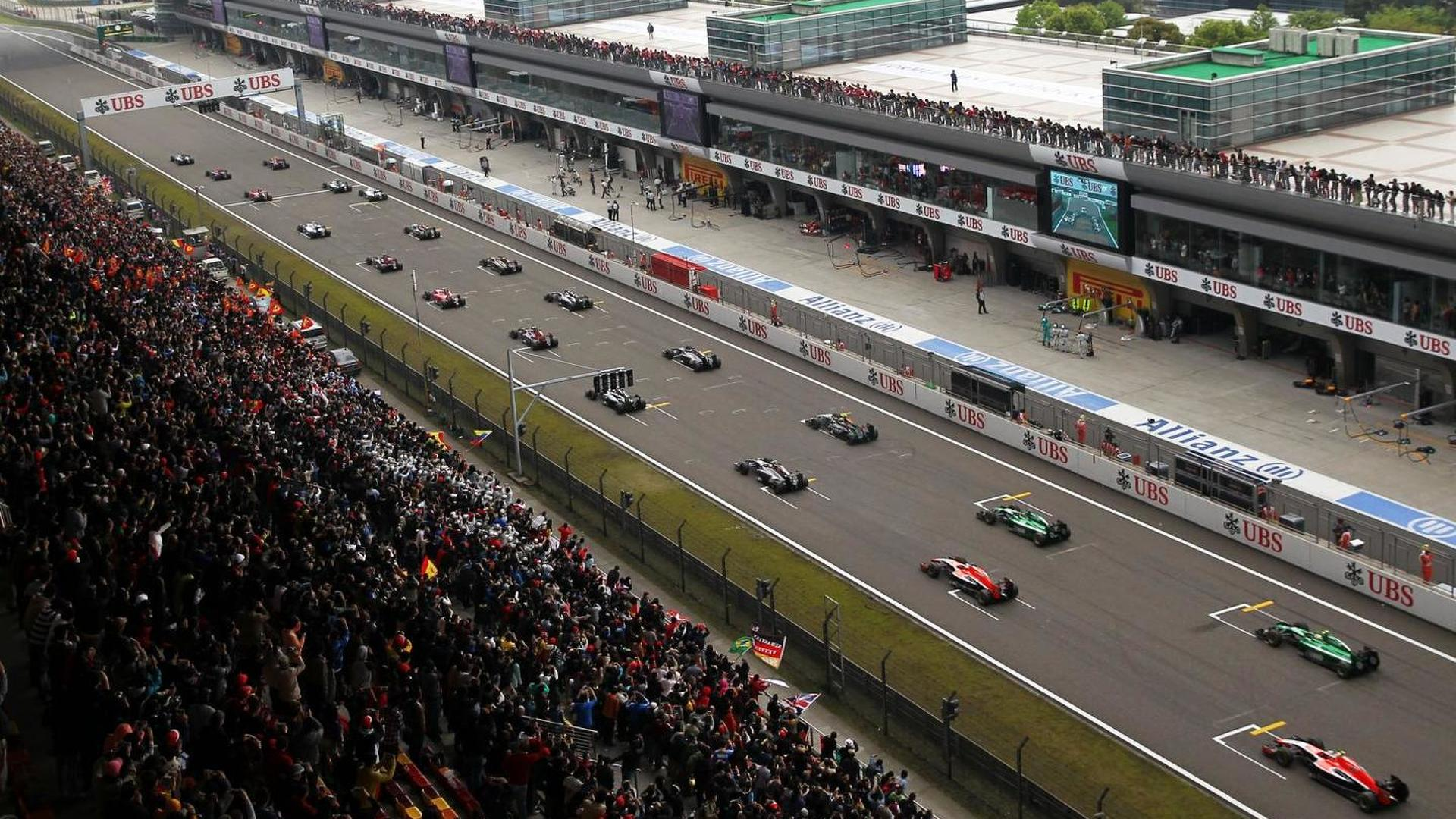 One word caused China GP 'flag-gate'