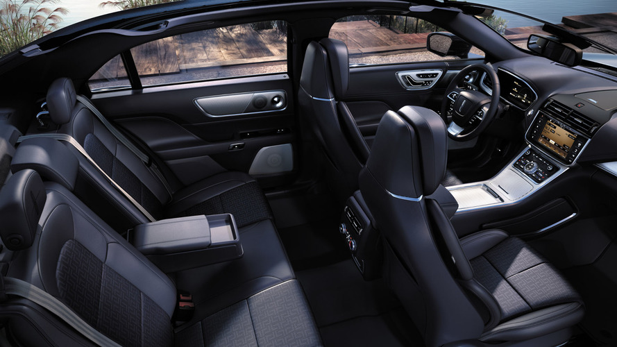 Lincoln Continental gets blue with new interior theme