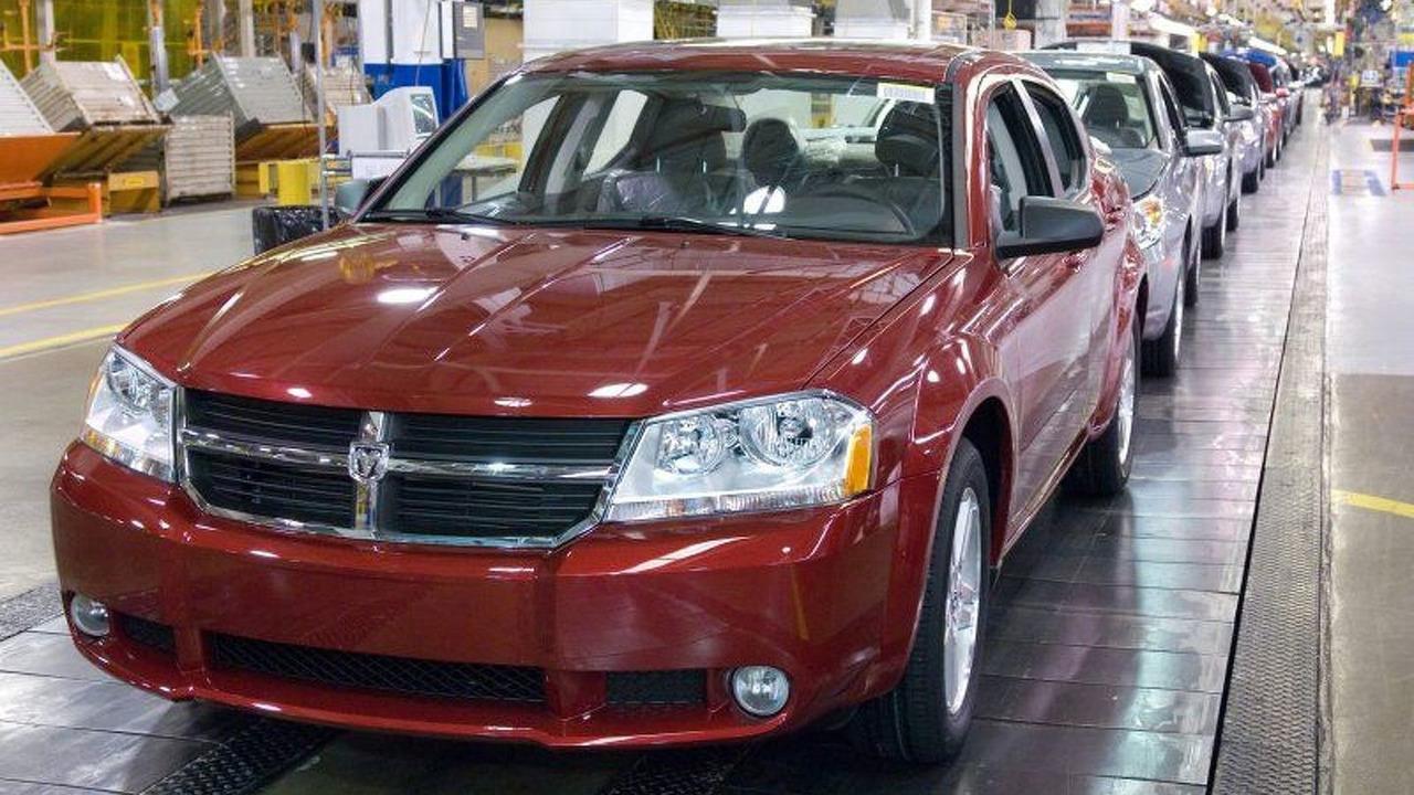 All-new 2008 Dodge Avenger Production