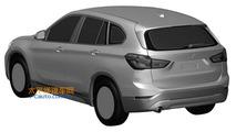 BMW X1 long wheelbase leaks via patent images