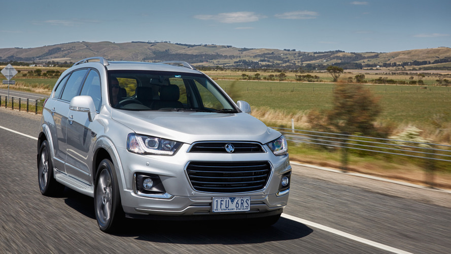 2016 Holden Captiva revealed, will replace the Captiva 5 & Captiva 7
