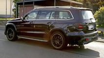 Mercedes-AMG GLS 63 spy photo